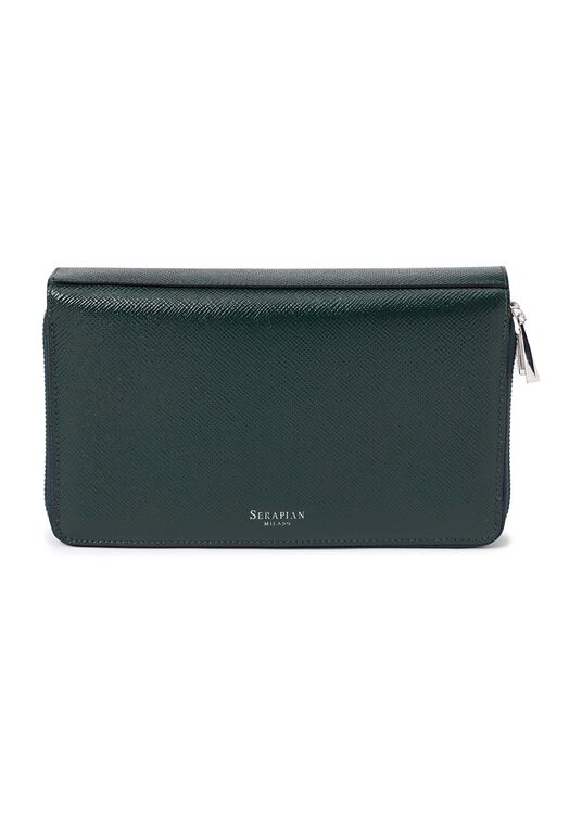 TRAVEL POCHETTE WITH DOUBLE ZIP EVOLUZIONE image number 0