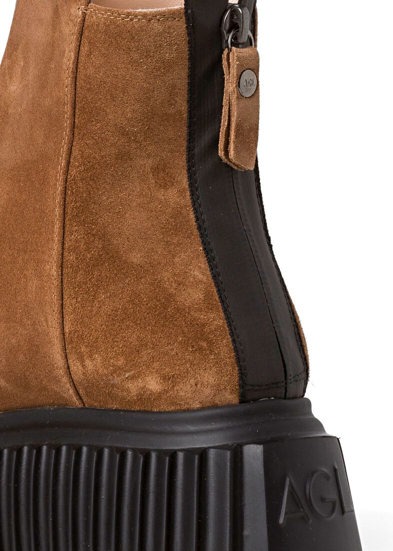 4_Bootie Riffle Sole Suede, , large image number 3