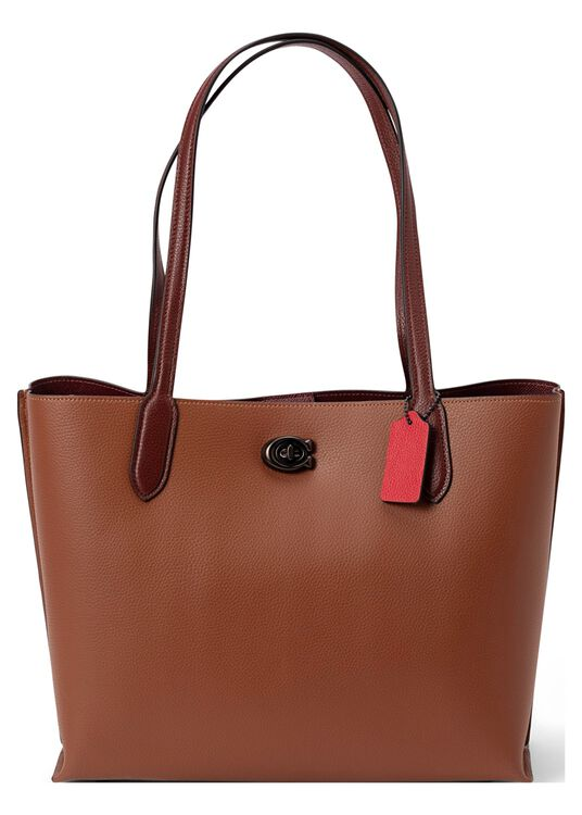 colorblock leather with coated canvas signature interior wil image number 0