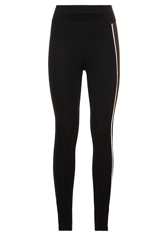 Outline leggings Multicolor, Schwarz, large image number 0