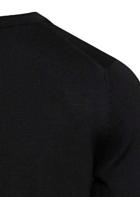 R-NECK PULLOVER TRICOLOR FOX PATCH image number 3