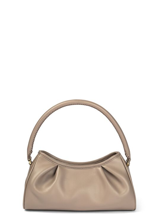 Dimple Leather Baguette Bag image number 0