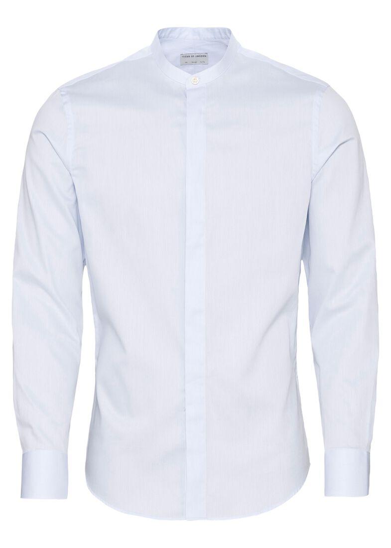 FORWARD    shirt stand-up collar, Blau, large image number 0