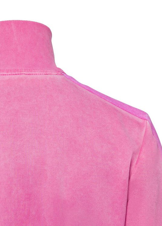GARMENT DYED TRACK JACKET, Pink, large image number 3