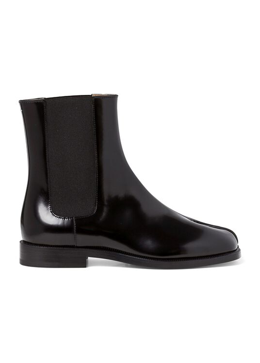 1_Chelsea Tabi Boot Brushed, Schwarz, large image number 0