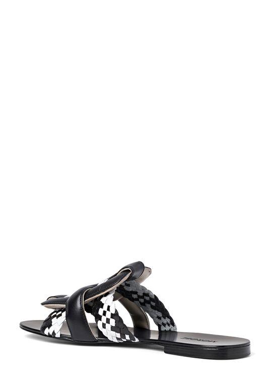 Sandale b/w Flecht Optik image number 2