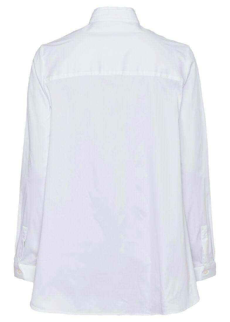 SCT-Shirt weiss-leichte Vokuhila-Doppelkr., Weiß, large image number 1