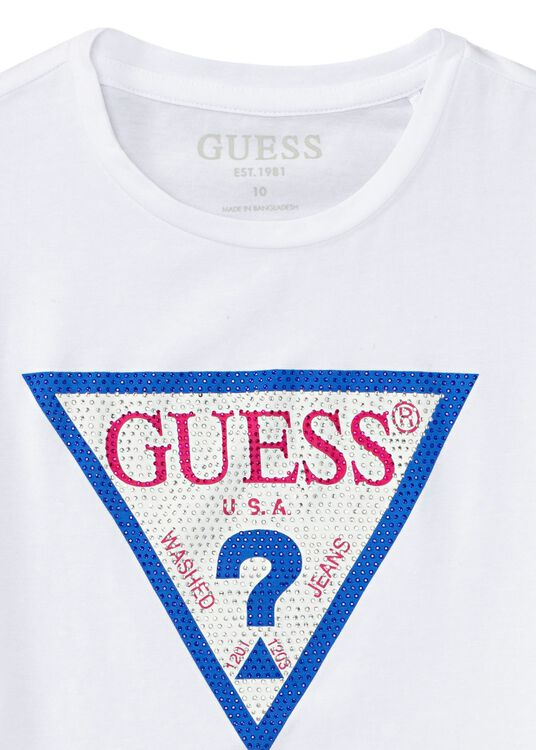 SS Guess Cropped Tee image number 2
