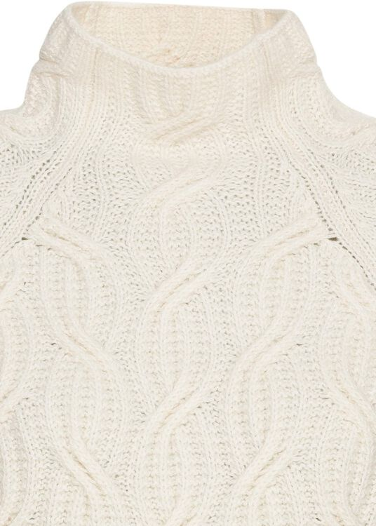 TEXTURE CABLE TURTLENECK image number 2