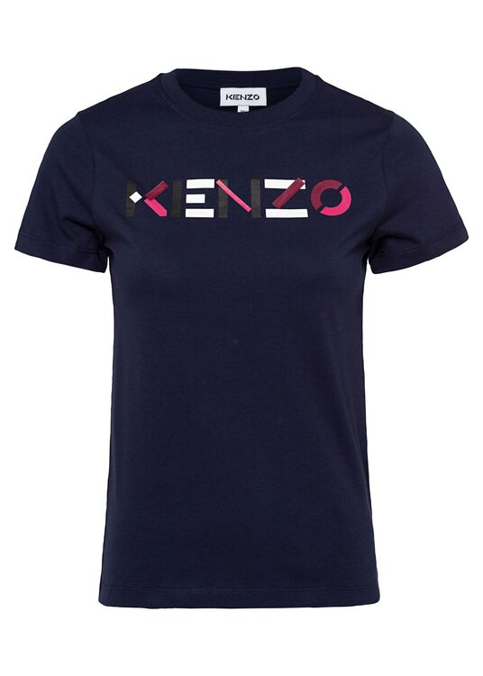 T-Shirt, Navy, large image number 0