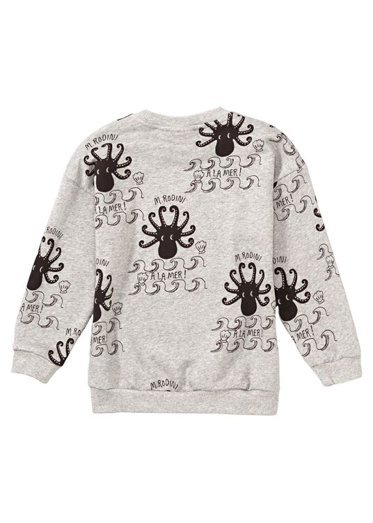 Octopus AOP Crew Neck, , large image number 1