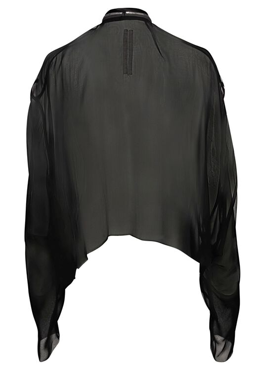SHORT ZIPPED CAPE image number 1