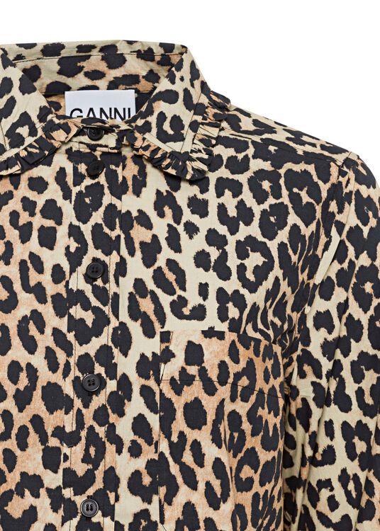 Printed Cotton Poplin Shirt/Blouse image number 2