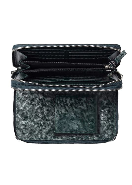 TRAVEL POCHETTE WITH DOUBLE ZIP EVOLUZIONE image number 3