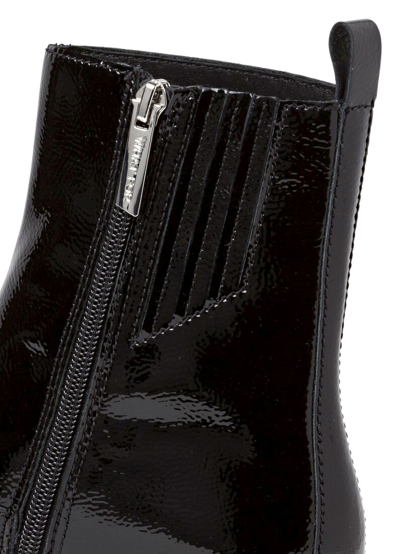 4_Fran Chain Flat Boot Patent, Schwarz, large image number 3