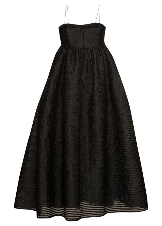 BANDEAU DRESS WITH GATHERED POCKETS image number 1