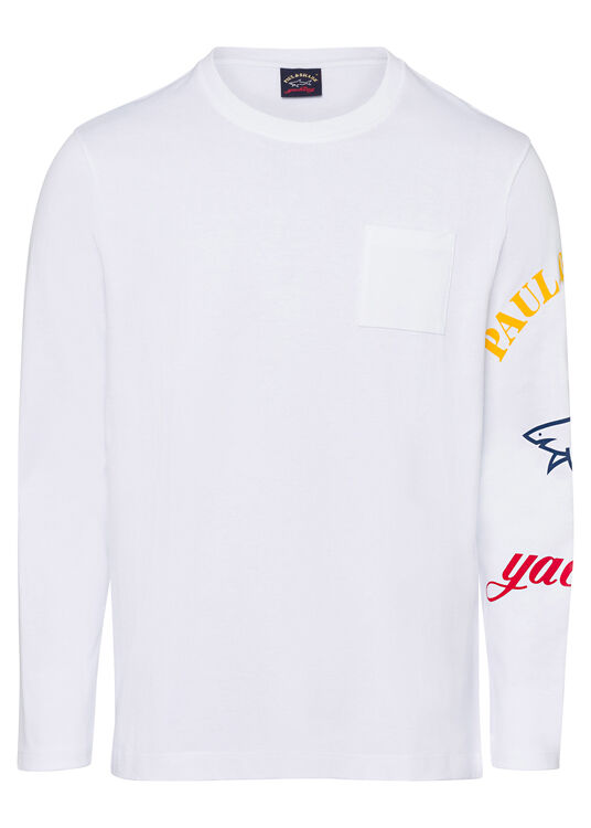 MEN'S KNITTED T-SHIRT C.W. COTTON image number 0