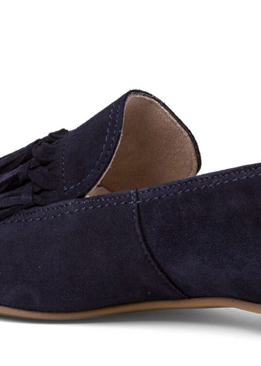 14_Pointy Loafer Tasseln Suede image number 3
