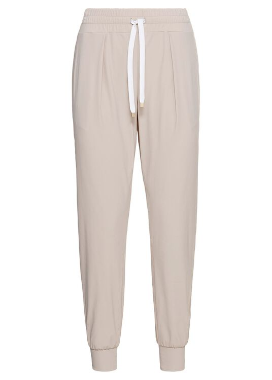 LUXE LEGER TRACK PANTS SHEER image number 0