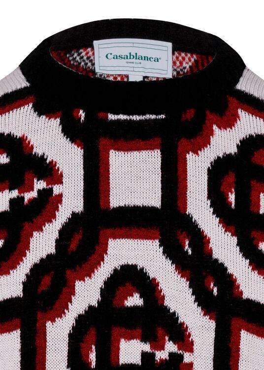 3D Monogram Sweater image number 2