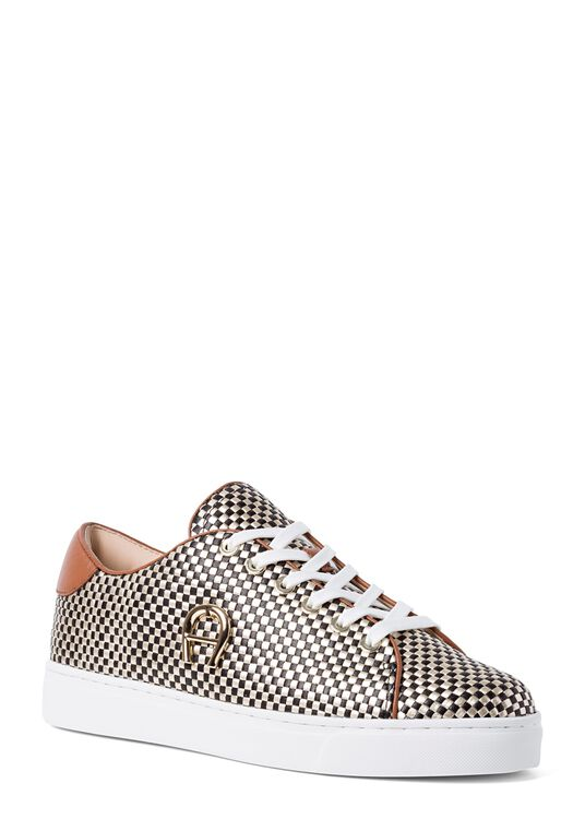 11_Bicolor Woven Sneaker image number 1