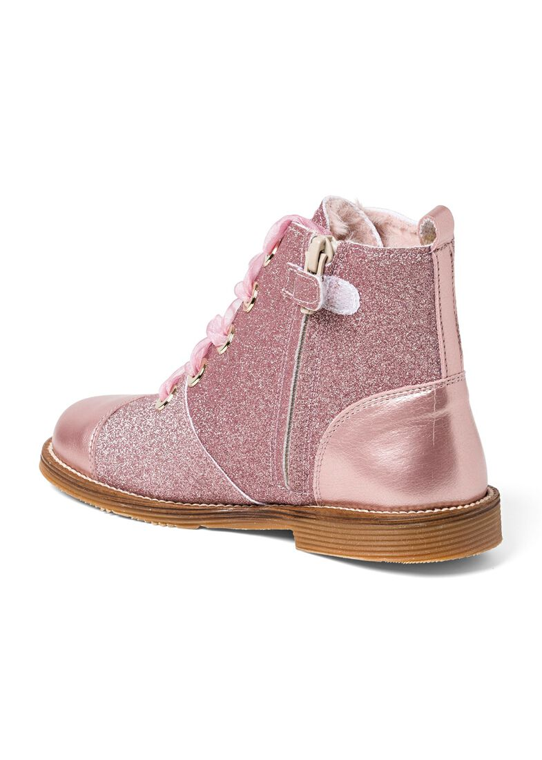 Wool Lines Glitter Boot, Rosa, large image number 2