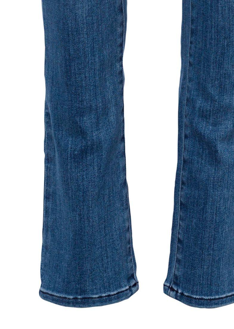 5P DENIM STR WASH 3 Hose, Blau, large image number 2