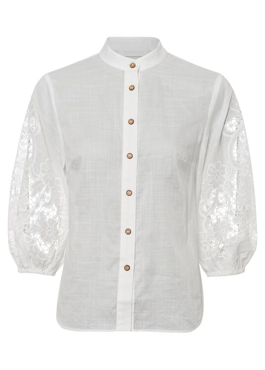 Lulu Scallop Blouse image number 0