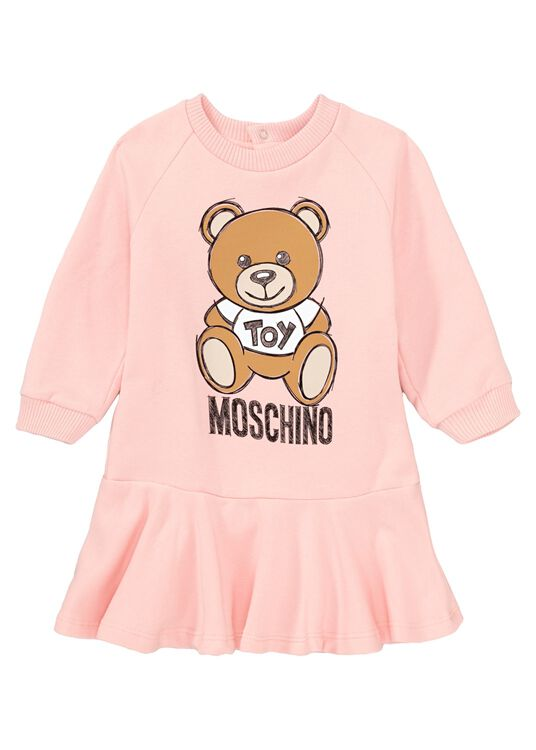 Teddy Sweat Dress, Rosa, large image number 0