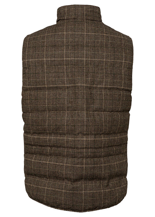 Quilt Check Wo Vest image number 1