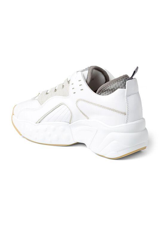 3_Manhattan Nappa Sneaker, Weiß, large image number 2