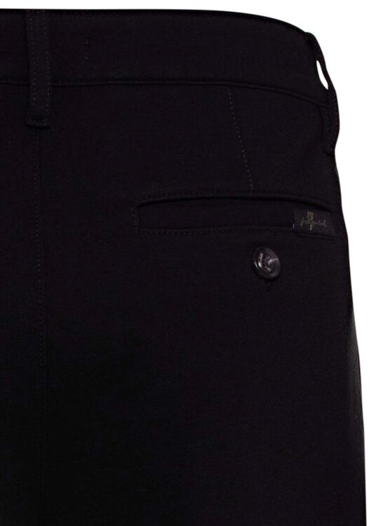 TRAVEL CHINO DOUBLE KNIT  BLACK image number 3