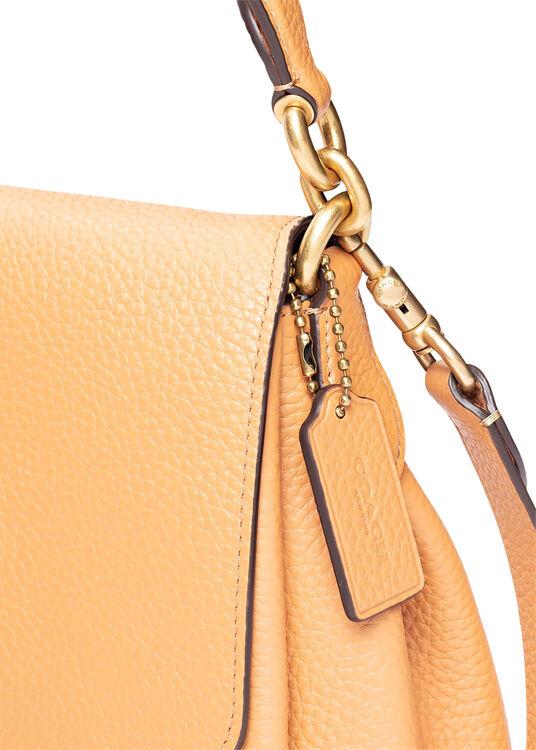 soft pebble leather may shoulder bag image number 2
