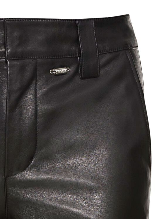 LEATHER WORK PANTS image number 2