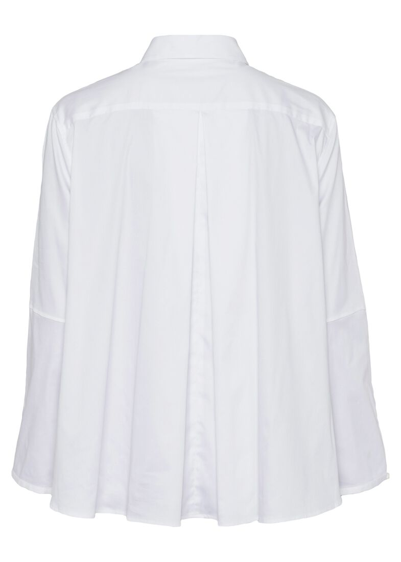 SCT-Shirt weiss-Bubikragen-Kellerfalte, Weiß, large image number 1