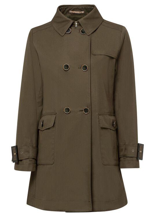 Woman's Woven Half Coat image number 0