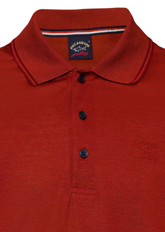 MEN'S KNITTED POLOSHIRT C.W. COTTON image number 2