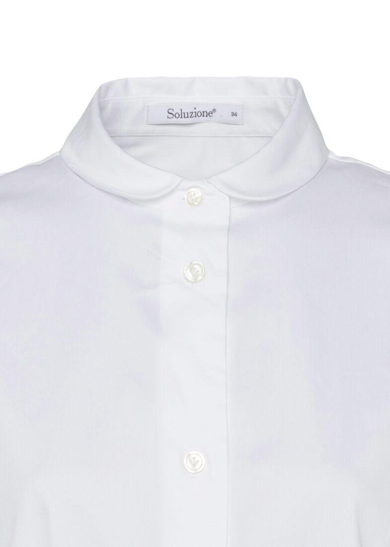 SCT-Shirt weiss-Bubikragen-Kellerfalte, Weiß, large image number 2