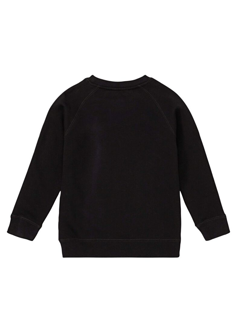 Stars Fringes Crew Neck, Schwarz, large image number 1