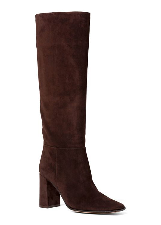 2_Squared Toe Boot Velour image number 1