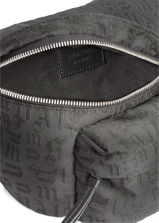 MONOGRAM FANNY PACK BLACK GREY image number 3