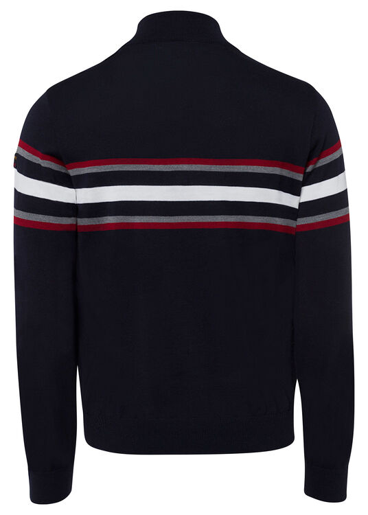 MEN'S ZIPPED PULLOVER C.W. WOOL image number 1