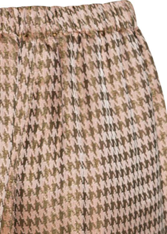 pied de poule fluidjacquard high waistpants image number 3