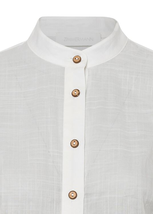 Lulu Scallop Blouse image number 2
