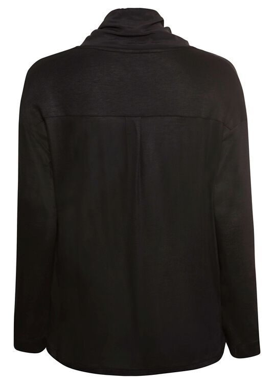 Blusenshirt mit Bänder-Detail image number 1
