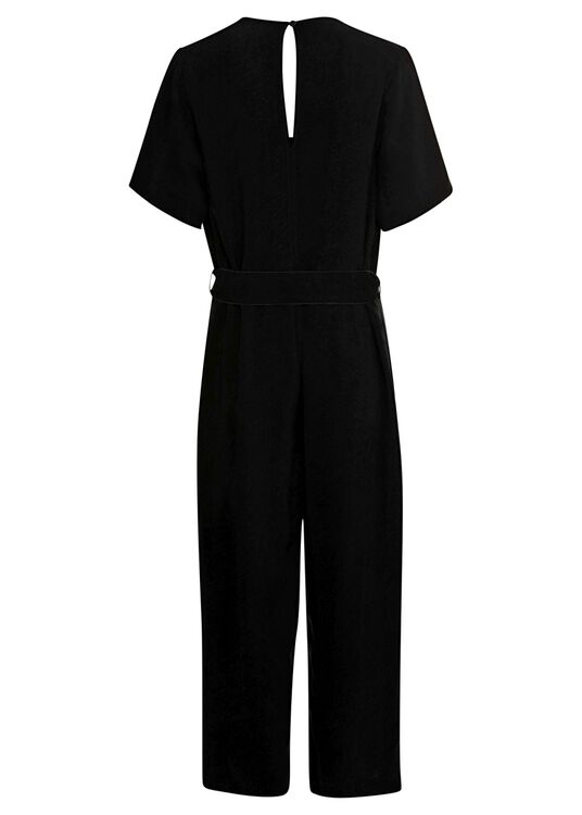 washed cupro twill jumpsuit image number 1
