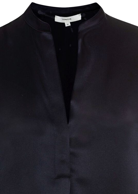 BAND COLLAR BLOUSE image number 2