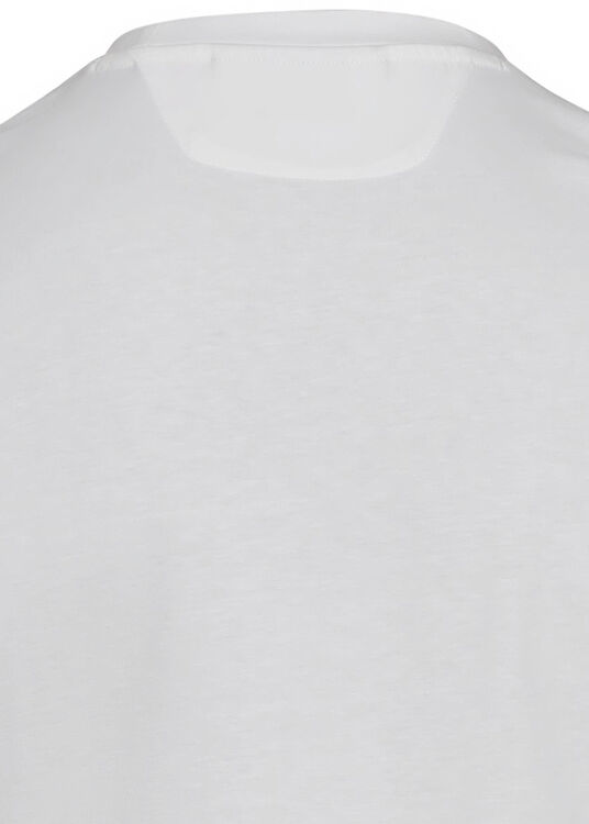 COTTON PLACED PRINT T-SHIRT image number 3