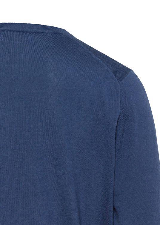 Full Zip Cardi Wool Cash Lightweight image number 3