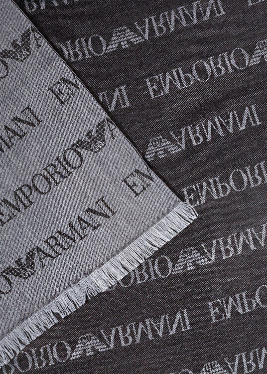 MAN'S SCARF 43x185 W image number 1